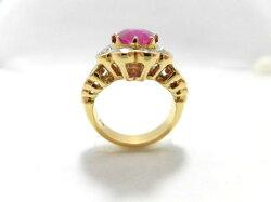K18ルビーダイヤモンドリング/R3.48ctD2.60ct/E9315/リング/指輪/ゆびわ/ring/ジュエリー/女性用/レディース/プレゼント/ギフト/お買い得/オススメ/送料込み/宝石