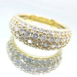 K18YGダイヤリングD1.50ctG99/リング/ダイヤモンドリング