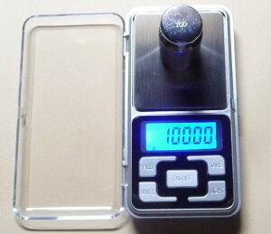 小型デジタル精密はかりデジタルスケール単位●0.01gで100gまで計量数デジタルはかりも数える精密光るはかり日本語説明書付