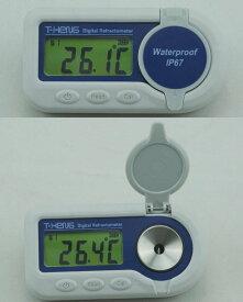 送料無料限定1台最安値挑戦デジタル糖度計世界初リチウム電池内蔵IP67低濃度から中濃度(0-60%)防水設計デジタルポケット型屈折計デジタル糖度計(Brix0-60%)丈夫なボディ設計