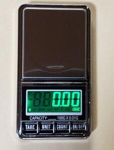 分銅DC電源使用可能最新はかり0.01g単位で100gまで計量スケール精密はかり小型光るはかり日本語説明書付数量も計量可能デジタルはかり