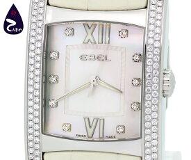 エベル(EBEL)ブラジリア 10Pダイヤ ダイヤベゼル9255M4S(メンズ クオーツ)【質屋出店】【掘り出しモノ】【ファッション】【ブランド】【質流れ】【中古】Y3T1R120041310