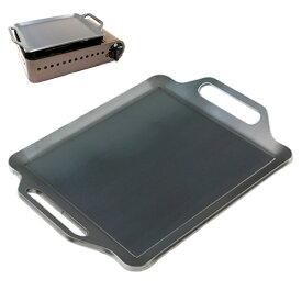 プロ仕様!極厚バーベキュー鉄板!BBQ・アウトドアの必須アイテム。 イワタニ たこ焼器 スーパー炎たこ(えんたこ)専用グリルプレート 板厚4.5mm
