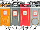 【チューリップ】 ニーナ 竹輪針(6号−13号)【ニーナ2本以上お買上げでネコポス便送料無料】