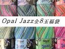 【Opal福袋】Opal Jazz/ジャズ 4-fach 全色8玉セット福袋【全国宅配便送料無料】