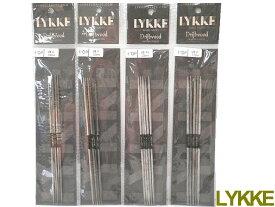 【先行予約販売7/28(水)以降発送】LYKKE 15cm×両先5本組針(0号−2号)【ネコポス便対応品】