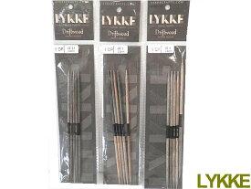 LYKKE 15cm×両先5本組針(3号−5号)【ネコポス便対応品】