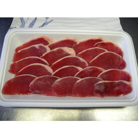 家庭用 猪肉 いのしし肉 イノシシ肉 (肩ロース肉スライス(並) あっさり肉500g)