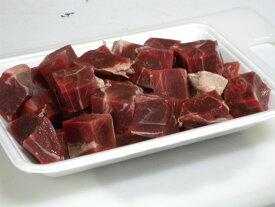 家庭用 天然猪肉 イノシシ肉 いのしし肉 (角切り肉 400g) 煮込み料理(カレー、シチュー用)
