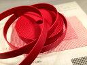 合成皮革ベルトハードタイプ 赤色