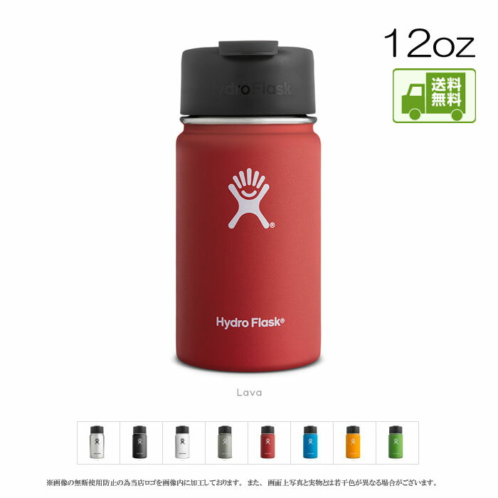 hydro flask coffee wide mouth coffee wide mouse 12oz 12 ounces of 355ml water bottle water bottle thermal insulation cold storage