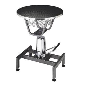 【油圧式昇降機能付】ハイドリック 丸テーブル 油圧式トリミングテーブル CN−20【油圧テーブル】【高性能】【プロユース】