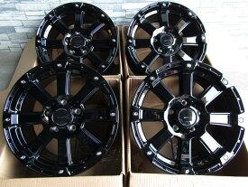 【即納OK】 デリカ D5 エクリプスクロス 等に 特注色ブラックPRO POTER X DD-V616×7.0J+35 5/114 マッドスター ラジアルMT215/70R16 新品タイヤホイール4本SET