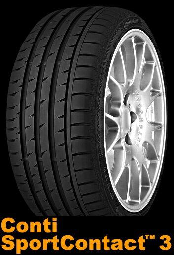 【2018年製】245/40R18 97Y XL MO【コンチネンタル コンチ スポーツ コンタクト 3】【CONTINENTAL Conti Sport Contact 3 CSC3】【Mercedes-Benz承認】【新品】