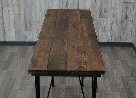 テーブル天板とアイアン脚のセット 900x360 アンティーク調 オシャレ カフェ風 ヴィンテージ風テーブル 天板のみ ダイニングテーブル天板 カフェ風テーブル 古木風 天板 カウンターテーブル コンソールテーブル