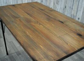 テーブル天板とアイアン脚のセット 900x630 アンティーク調 オシャレ カフェ風 ヴィンテージ風テーブル 天板のみ ダイニングテーブル天板 カフェ風テーブル 古木風 天板 カウンターテーブル コンソールテーブル