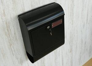 メールボックス ブラック マーキュリー メールボックス 郵便ポスト 大型 壁掛けポスト