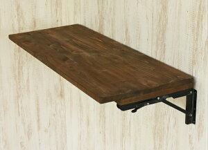 折りたたみ式 カウンターテーブル テーブル 天板のみ 金具付き ヴィンテージ風テーブル 幅100cm 折り畳み デスク 簡易テーブル 店舗カウンターテーブル 店舗テーブル キッチン 作業台 カフェ