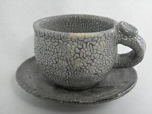 唐津コーヒーカップ(薪窯 還暦祝い 退職祝い 年iko-3