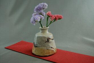 HA-42 wood kiln firing Zhi scorch ware tightening burning vase vase Arakawa t. made Vatican retirement fs04gm