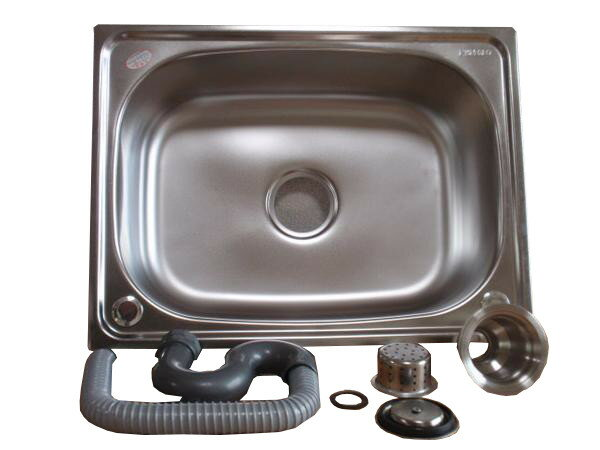 ステンレス製簡易流し台 シンクのみ  洗い桶 【05P16Dec17】