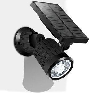 センサーライト ソーラーライト 防犯対策 屋外 LED 人感センサーライト 防水 自動点灯 電池不要 配線不要 簡単設置 防犯灯【05P22Jun21】