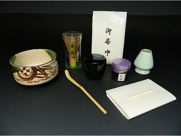 送料無料 選べる抹茶碗 お抹茶9点セット 京都宇治上林のお抹茶たっぷり40g入り 抹茶セット 茶道具