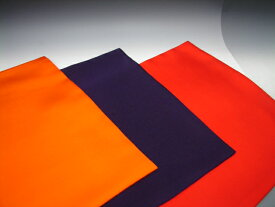 【茶道具/茶道用ふくさ】 手縫い 正絹(絹100%) 茶道用袱紗 7号 帛紗 服紗 朱色 赤色 紫色からお選びください