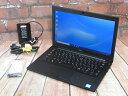 【中古】 Aランク Dell Latitude 7290 第7世代 i5 SSD256G搭載 12インチモバイル Windows10