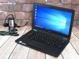【中古】AランクDellLatitudeE7270第六世代i3SSD128G搭載12インチモバイルWindows10