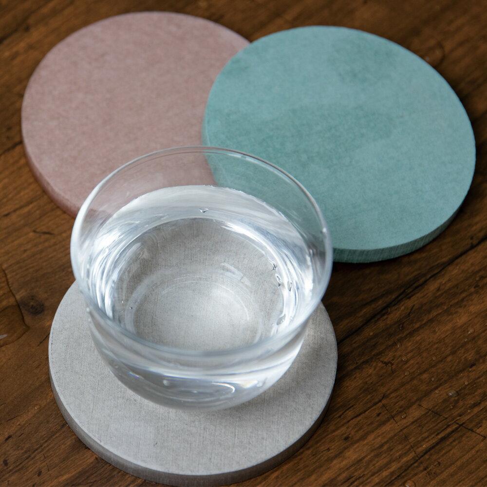 【選べる4枚セット】【全国送料無料(メール便発送)※代引き選択の場合は有料です。】コースター選べる4枚セット・丸型・サークル・水滴を吸収・テーブルを汚さない・おしゃれ・コースターに引っ付かない キッチン・テーブル・ドリンク・ビール/珪藻土コースター