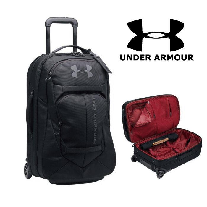 入荷しましたNEW!!●アンダーアーマー:Carry-On Rolling Travel Bag:キャリー黒1287680
