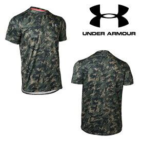 UNDER ARMOUR アンダーアーマー テックTシャツ カモ柄 数量限定商品(ベースボール/Tシャツ/MEN)[1313380 330]