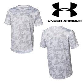 UNDER ARMOUR アンダーアーマー テックTシャツ カモ柄 ジュニア 数量限定商品(ベースボール/Tシャツ/BOYS)[1313616 100]