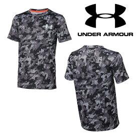 UNDER ARMOUR アンダーアーマー テックTシャツ カモ柄 ジュニア 数量限定商品(ベースボール/Tシャツ/BOYS)[1313616 001]