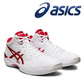 asics アシックス バスケットシューズ GELHOOP V12(1063A021)102:WHITE/CLASSIC RED