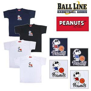 オンザコート ボールライン バスケット PEANUTS(スヌーピー)×BALL LINE Tシャツ PNU1626