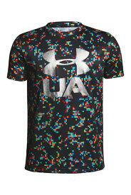 アンダーアーマー:ジュニアサイズ テックTシャツ<Print Crossfade>(トレーニング/Tシャツ/BOYS)[1306088]002