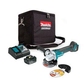 マキタ 18V 充電式 ブラシレス ディスクグラインダー 4点セット/サンダー/コードレス/リチウムイオンバッテリー/蓄電池/リチウムイオン電池