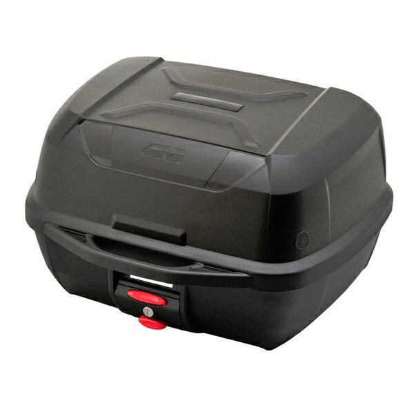 送料無料 GIVI ジビ リアボックス モノロックケース トップケース 大容量 43L E43NTLD ベース付 カラー 未塗装ブラック 高品質 バイク用ボックス テールボックス