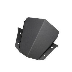 送料無料 ヤマハ MT-09 ショートスクリーン アルミ製 メーターバイザー MT09 カスタム パーツ ウィンドウスクリーン カラー ブラック