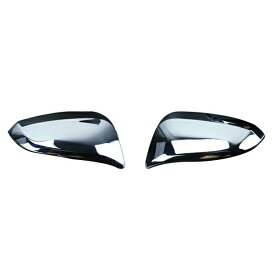 送料無料 ヴォクシー ノア エスクァイア 80系 ドアミラーカバー 鏡面メッキ 外装 サイド ミラー ガーニッシュ 純正適合 アクセサリー カスタムパーツ