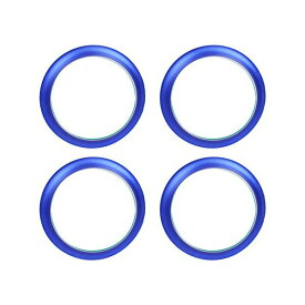 送料無料 日産 NV350 キャラバン E26 DX GX エアコンリング カバー ブルー 4点セット 純正適合 内装 カスタムパーツ ACベンチリング インテリアパネル アクセサリー