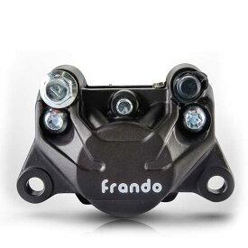 送料無料 FRANDO 9GA 2ポットキャリパー ブレーキキャリパー 対向2ポット キャリパー アルミ鍛造 キャリパー ブレーキ 2POT ハードアルマイト 高品質 大人気!