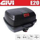 GIVI ジビ リアボックス モノロックケース トップケース カラー 未塗装ブラック 容量 39L E20N EASY-BOX バイク用ボックス GIVI製 高...
