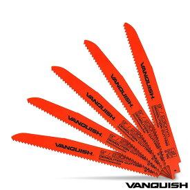 ヴァンキッシュ レシプロソー 替刃 セット 5枚 木工用 230mm 映えにも こだわる DIYer 必見の おしゃれ 工具 メーカー セーバーソー替刃 電動工具 アクセサリー