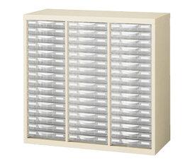 生興 A4判整理ケース(プラスチック引出し) 書庫内収納型 3列浅型16段 A4G-P316S【新品商品】