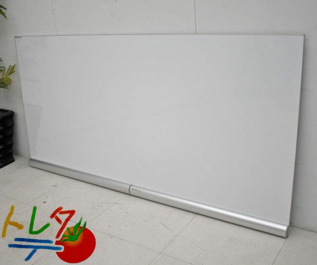 ニチガク メタルライン 壁掛けボード コミュニケーションボード W1776 2019031401【中古オフィス家具】【中古】