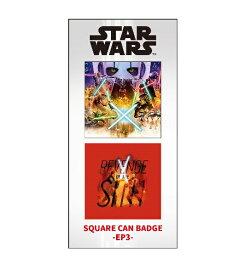 スター・ウォーズ・サガ The Star Wars Saga IBA-160 スクエア缶バッジ2個セット / EP3