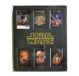 スター・ウォーズ・サガ The Star Wars Saga IBA-156 ピンバッジ7個セットA